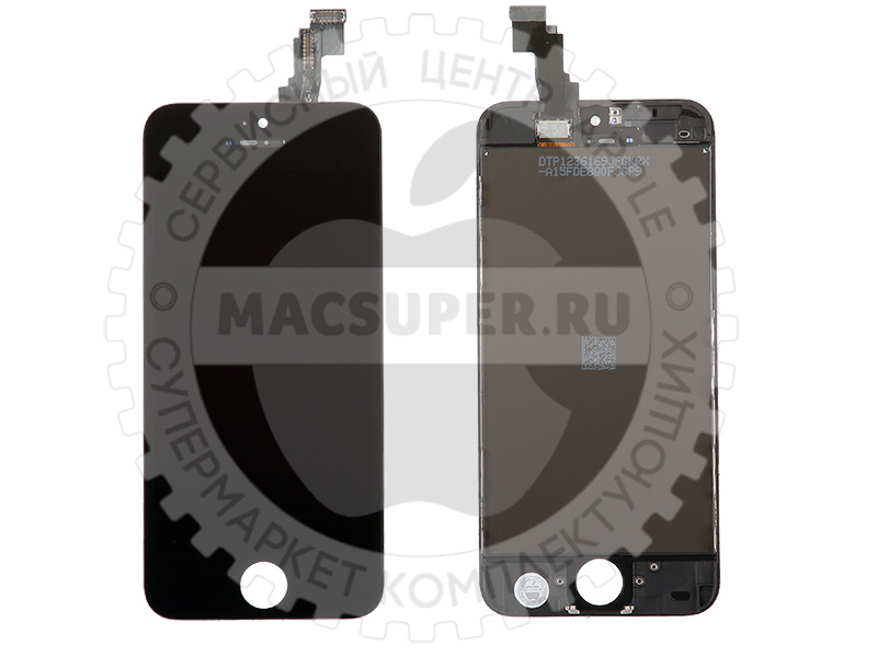 Купить дисплейный модуль (lcd touchscreen) для iphone 5c original черный