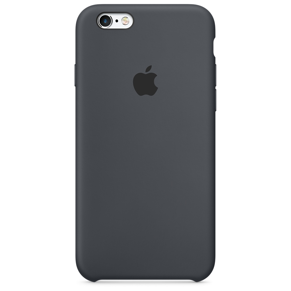 Купить чехол apple для iphone 6g/6s, charcoal gray