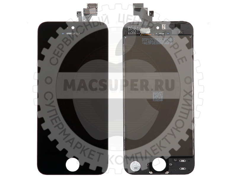 Купить дисплейный модуль (lcd touchscreen) черный для iphone 5 shenchao
