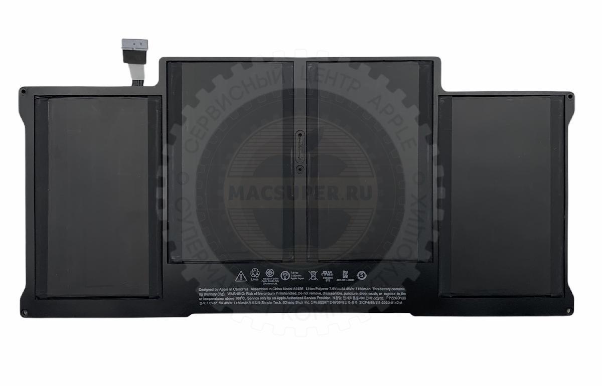 Купить аккумулятор a1496 для macbook air 13