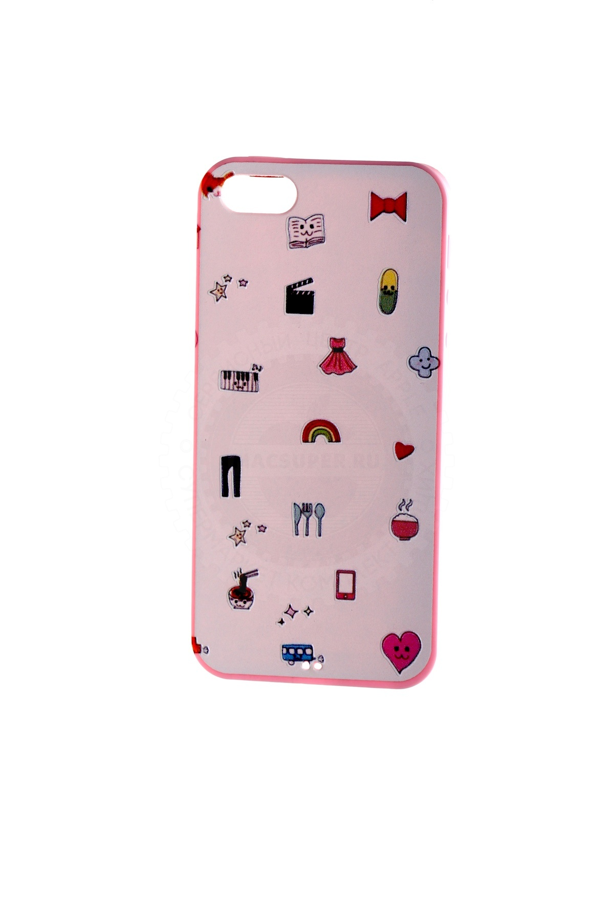 Купить чехол girlish pictures pink для iphone 5/5s/5se