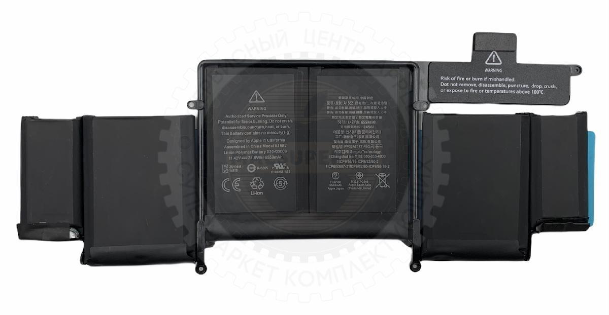 Купить аккумулятор a1493 / a1582 для macbook pro retina 13