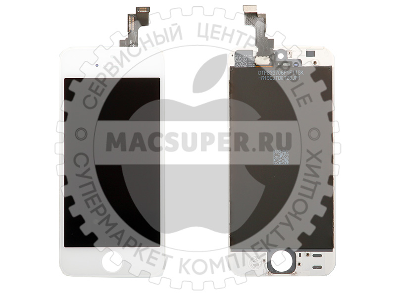 Купить дисплейный модуль (lcd touchscreen) белый для iphone 5s/5se original