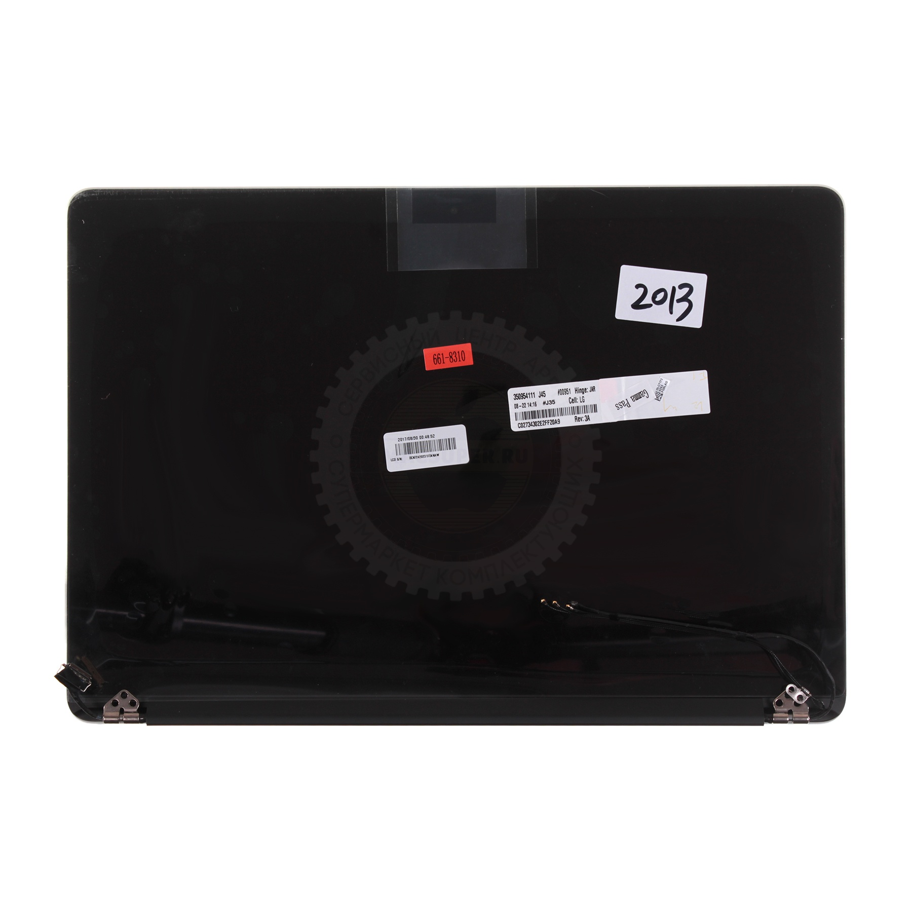 "Купить дисплей в сборе для macbook pro 13"" retina a1502 (end 2013 - mid 2014) with factory stickers"
