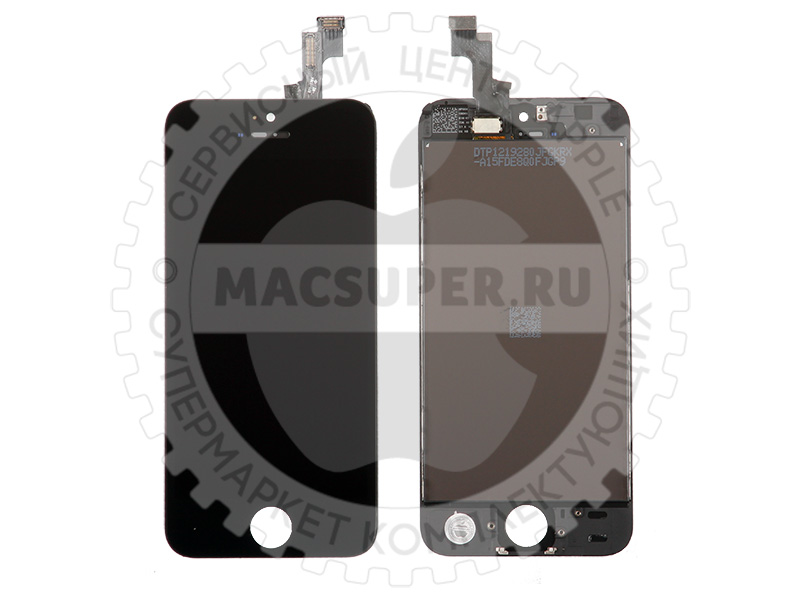 Купить дисплейный модуль (lcd touchscreen) черный для iphone 5s/5se original